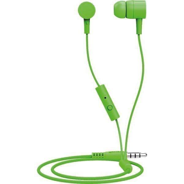 Maxell Spectrum Earphone In-Ear headset 1 2m kaapeli vihreä