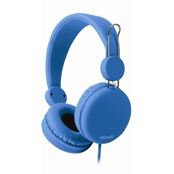 Maxell Spectrum Headphone headset 1 2m litteä kaapeli sininen
