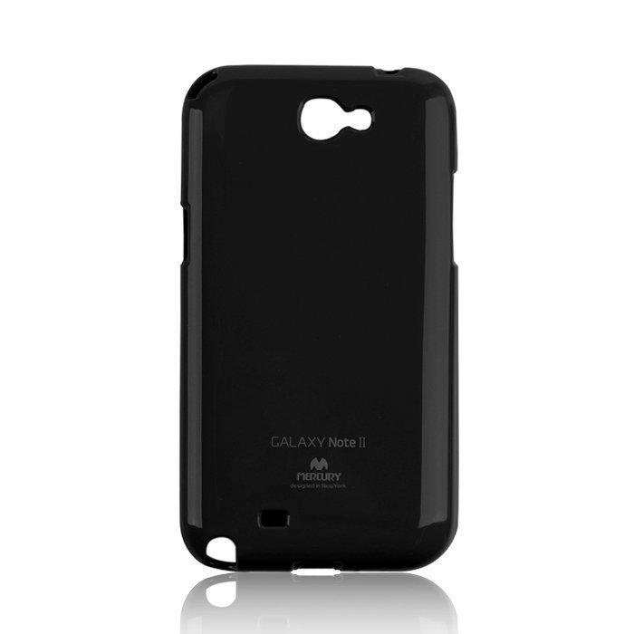 Mercury Jelly TPU iPhone 7 / 6S suojakotelo Musta
