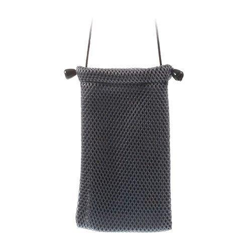 Mesh Kangas Harmaa Älypuhelinpussi 14.5 X 10cm