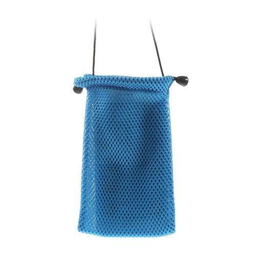 Mesh Kangas Sininen Älypuhelinpussi 14.5 X 10cm