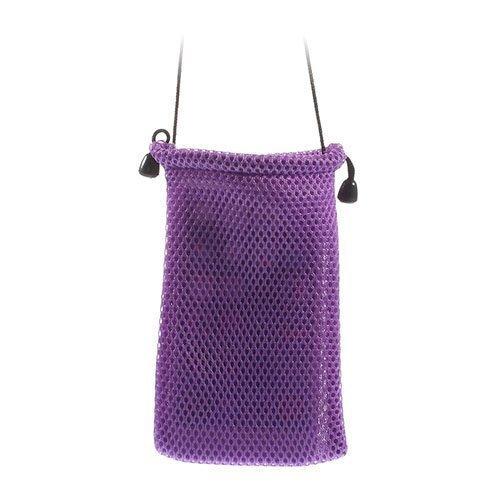 Mesh Kangas Violetti Älypuhelinpussi 14.5 X 10cm
