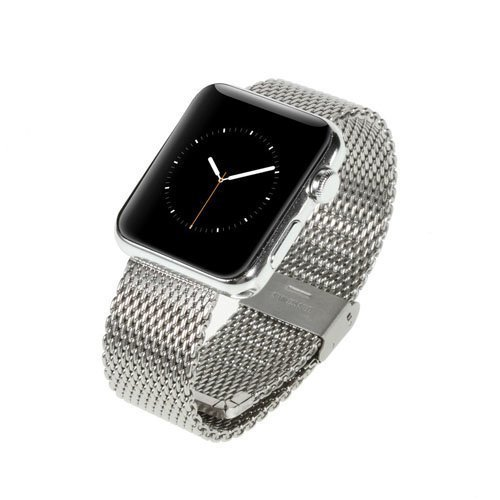 Metalli Ranneke Apple Kellolle 38mm Hopea