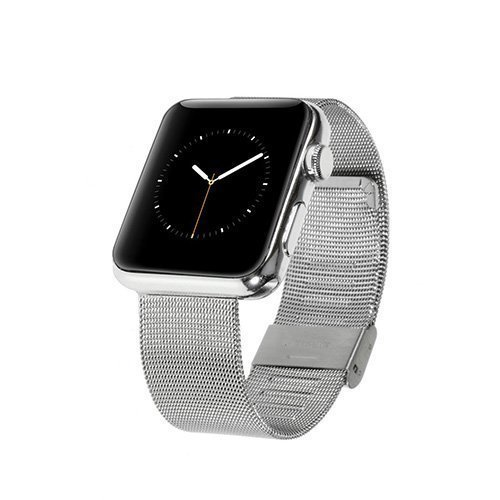 Metalli Ranneke Apple Kellolle 42mm Hopea