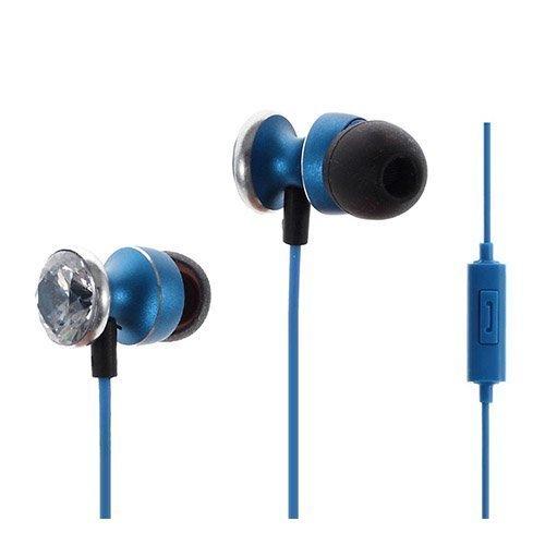 Mgall Sininen Diamond Kuulokkeet Mikrofonilla