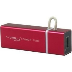 MiPow MiPow 1000 mAh Power Tube SP3000RD Red