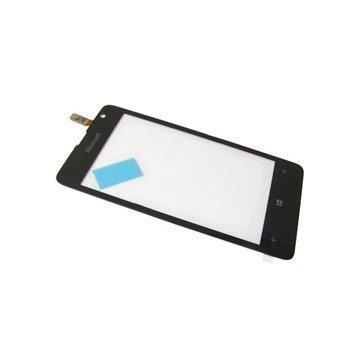 Microsoft Lumia 430 Dual SIM Näytön Lasi & Kosketusnäyttö Musta