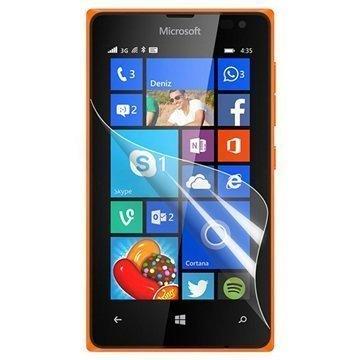 Microsoft Lumia 435 Lumia 435 Dual SIM Ksix Näytönsuoja Läpinäkyvä