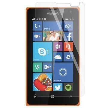 Microsoft Lumia 435 Panzer Suojaava Karkaistun Lasin Näytönsuojakalvo