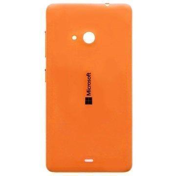 Microsoft Lumia 535 Akkukansi Oranssi