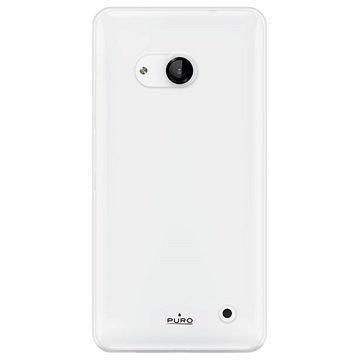 Microsoft Lumia 550 Puro Silikonikotelo Läpinäkyvä