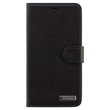 Microsoft Lumia 640 XL Commander Book Elite Läpällinen Nahkakotelo Musta