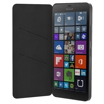 Microsoft Lumia 640 XL Lumia 640 XL LTE Läppäkotelo CC-3090 Musta