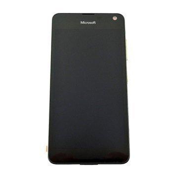 Microsoft Lumia 650 Etukuori & LCD Näyttö Musta