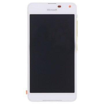 Microsoft Lumia 650 Etukuori & LCD Näyttö Valkoinen