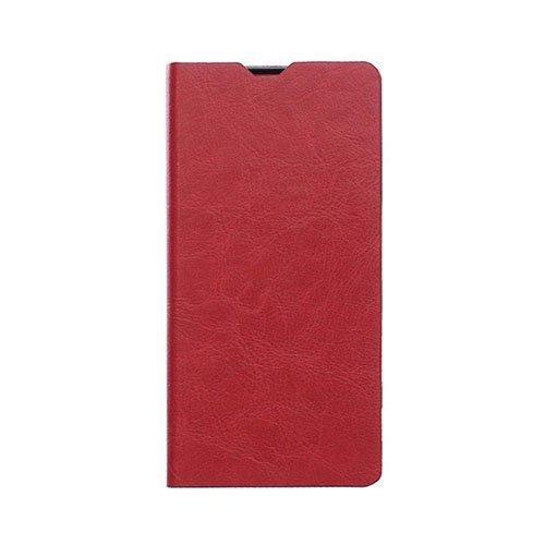 Microsoft Lumia 650 Hullu Hevonen Nahkakotelo Korttitaskuilla Punainen
