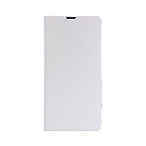 Microsoft Lumia 650 Hullu Hevonen Nahkakotelo Korttitaskuilla Valkoinen