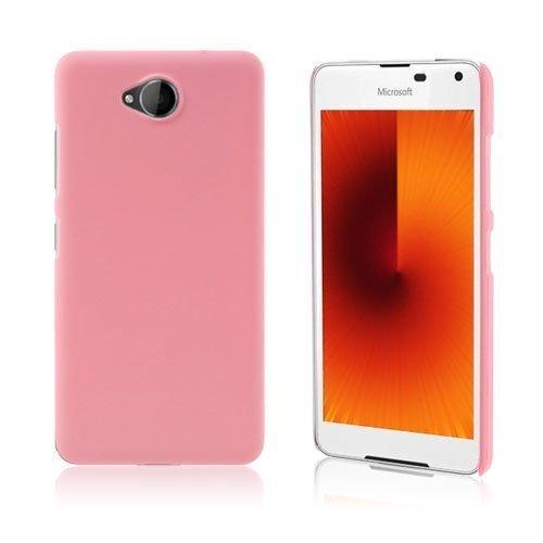 Microsoft Lumia 650 Kumi Päällystetty Kova Pc Muovikuori Pinkki