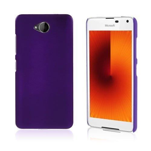 Microsoft Lumia 650 Kumi Päällystetty Kova Pc Muovikuori Violetti