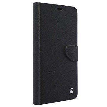 Microsoft Lumia 950 Krusell Borås Lompakkokotelo Musta