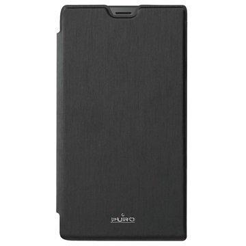 Microsoft Lumia 950 Puro Wallet Kotelo Musta