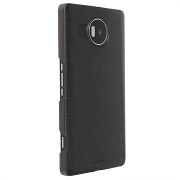 Microsoft Lumia 950 XL Krusell Boden Kuori Läpinäkyvä / Musta