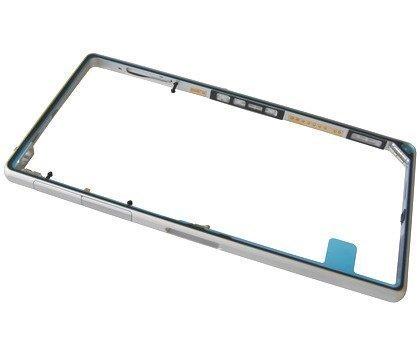 Middle kehys Sony C6902/ C6903/ C6906 Xperia Z1 valkoinen