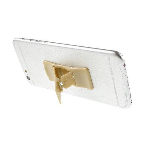 Mini Kokoinen Standi Älypuhelimille Beige