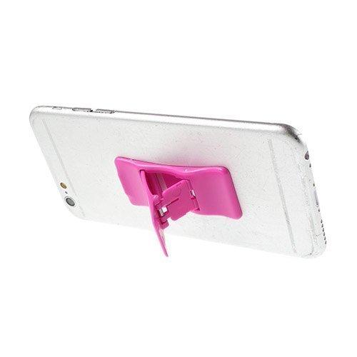 Mini Kokoinen Standi Älypuhelimille Kuuma Pinkki