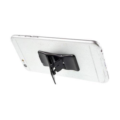 Mini Kokoinen Standi Älypuhelimille Musta