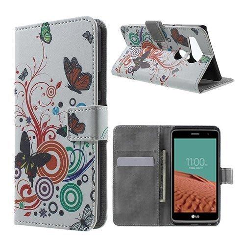 Moberg Google Nexus 5x Nahkakotelo Perhosympyrät