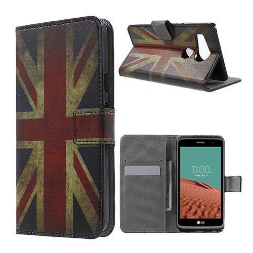 Moberg Google Nexus 5x Nahkakotelo Vanhanaikainen Britannian Lippu