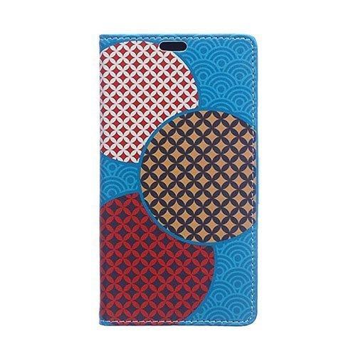Moberg Google Nexus 5x Nahkakotelo Ympyröitä