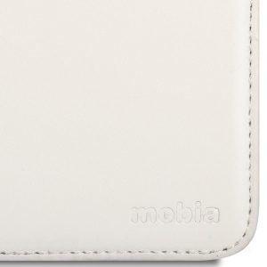 Mobia Samsung Galaxy S4 Mini Lompakkolaukku Valkoinen