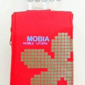 Mobia Utopia Puhelinpussi M Punainen