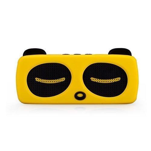 Momax Music Panda Langaton Bluetooth Kaiutin Keltainen