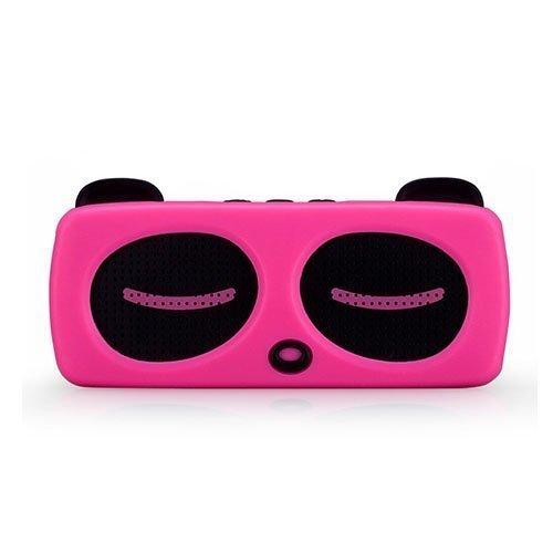 Momax Music Panda Langaton Bluetooth Kaiutin Kuuma Pinkki