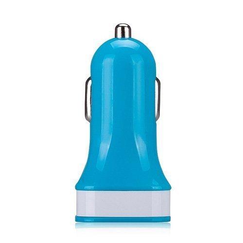 Momax Sininen Usb Autolaturi Älypuhelimille Ja Tableteille