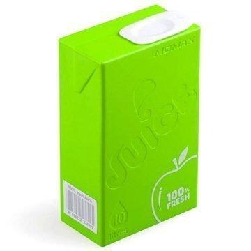 Momax iPower Juice+ Dual USB Ulkoinen Akku / Virtapankki Vihreä