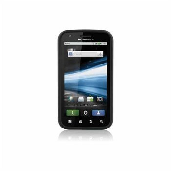 Motorola Atrix Atrix 4G Naztech Vertex 3-kerroksinen Kotelo Musta