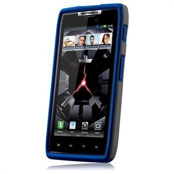 Motorola DROID RAZR Naztech Vertex 3-Layer Cover Black
