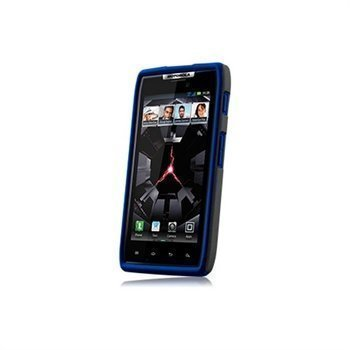 Motorola DROID RAZR Naztech Vertex 3-Layer Cover Blue