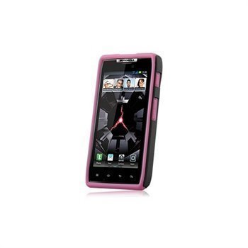 Motorola DROID RAZR Naztech Vertex 3-Layer Cover Pink