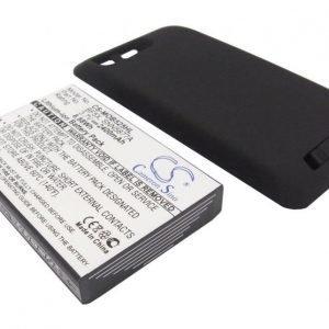 Motorola MB525 tehoakku erillisellä laajennetulla takakannella 2400 mAh