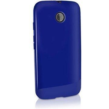 Motorola Moto E Moto E Dual iGadgitz TPU-Suojakotelo Solid Sininen