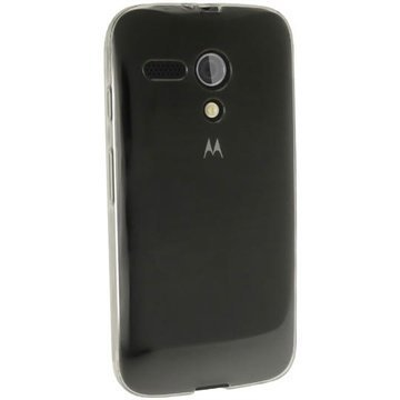 Motorola Moto G 4G iGadgitz TPU-Suojakotelo Transparent Kirkas