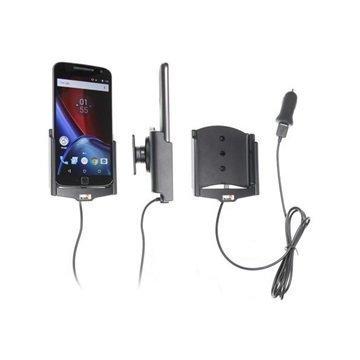Motorola Moto G4 Brodit 521909 Aktiivinen Autopidike USB Kaapeli & Autolaturi