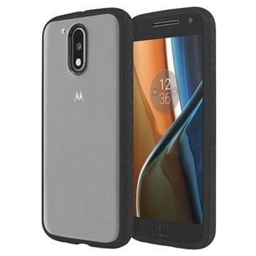 Motorola Moto G4 Moto G4 Plus Incipio Octane Suojakuori Huurre / Musta