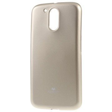 Motorola Moto G4 Moto G4 Plus Mercury Goospery TPU Kotelo Kulta