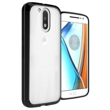 Motorola Moto G4 Moto G4 Plus UreParts Akryylikotelo Musta